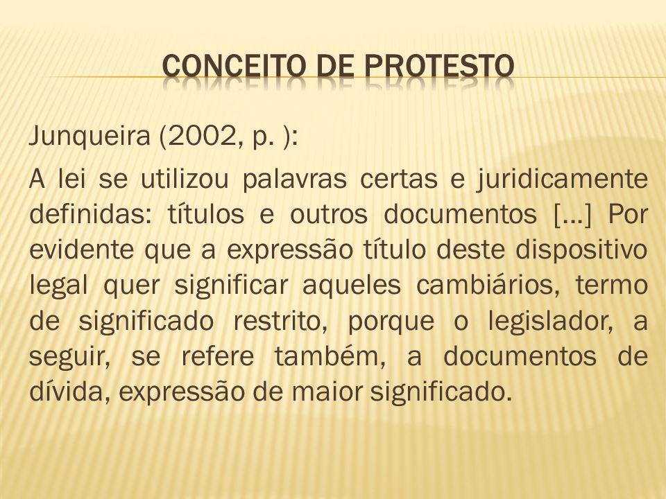 Conceito de protesto