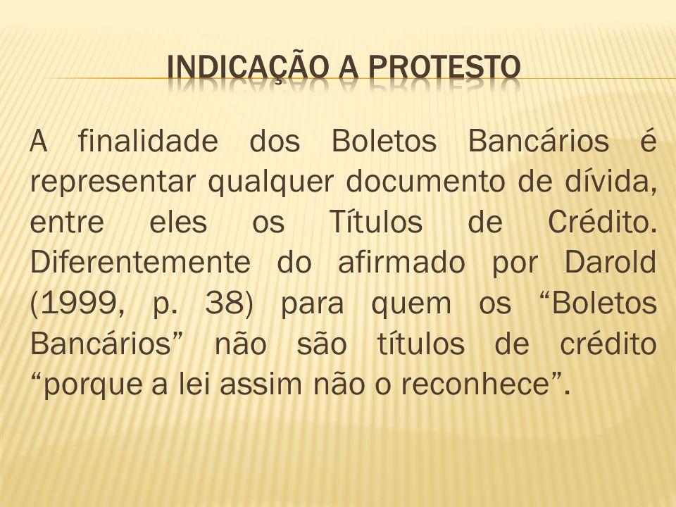 INDICAÇÃO A PROTESTO