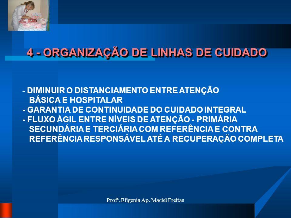 4 - ORGANIZAÇÃO DE LINHAS DE CUIDADO