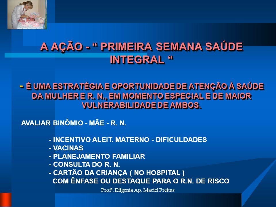 Profª. Efigenia Ap. Maciel Freitas