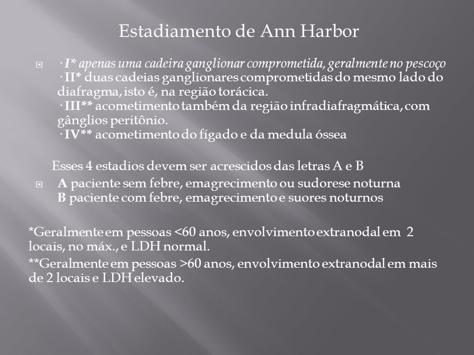 Estadiamento de Ann Harbor