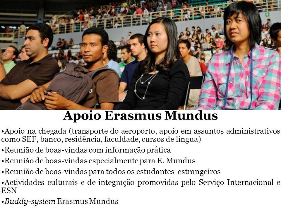 Apoio Erasmus Mundus