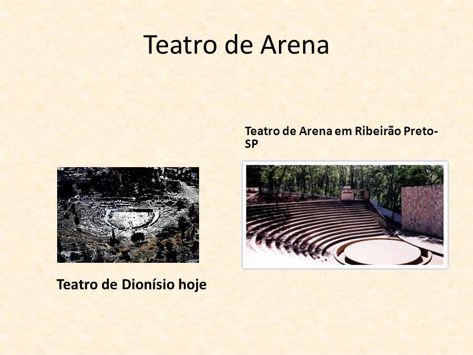 Teatro de Arena Teatro de Dionísio hoje