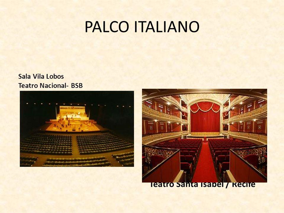 PALCO ITALIANO Teatro Santa Isabel / Recife Sala Vila Lobos
