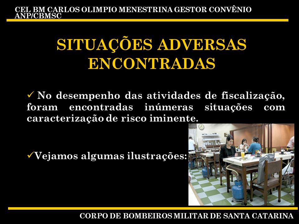 SITUAÇÕES ADVERSAS ENCONTRADAS
