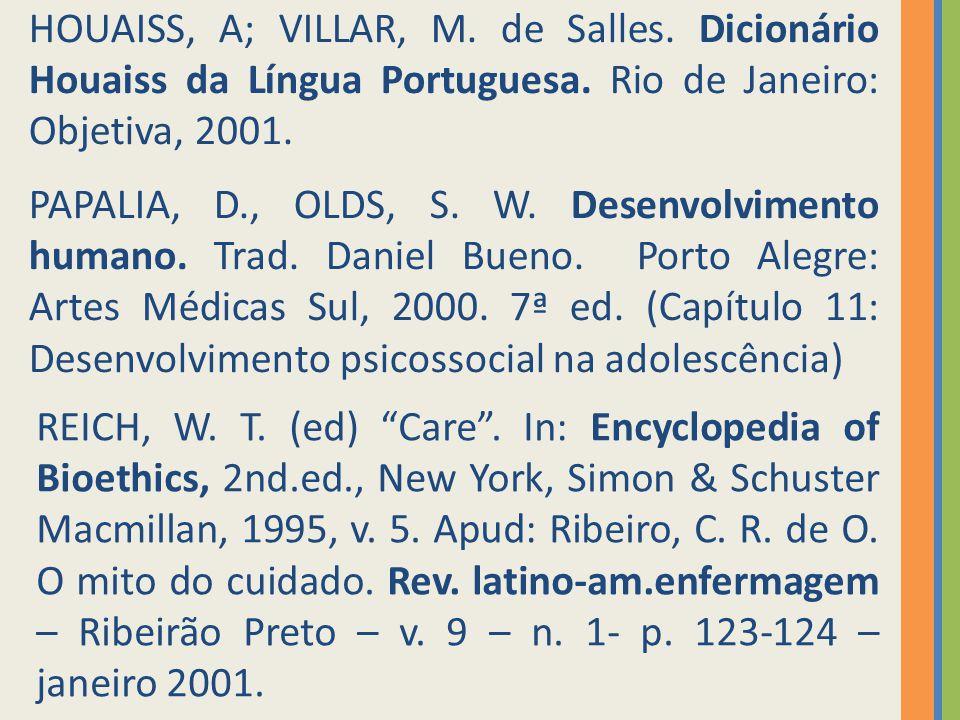 HOUAISS, A; VILLAR, M. de Salles