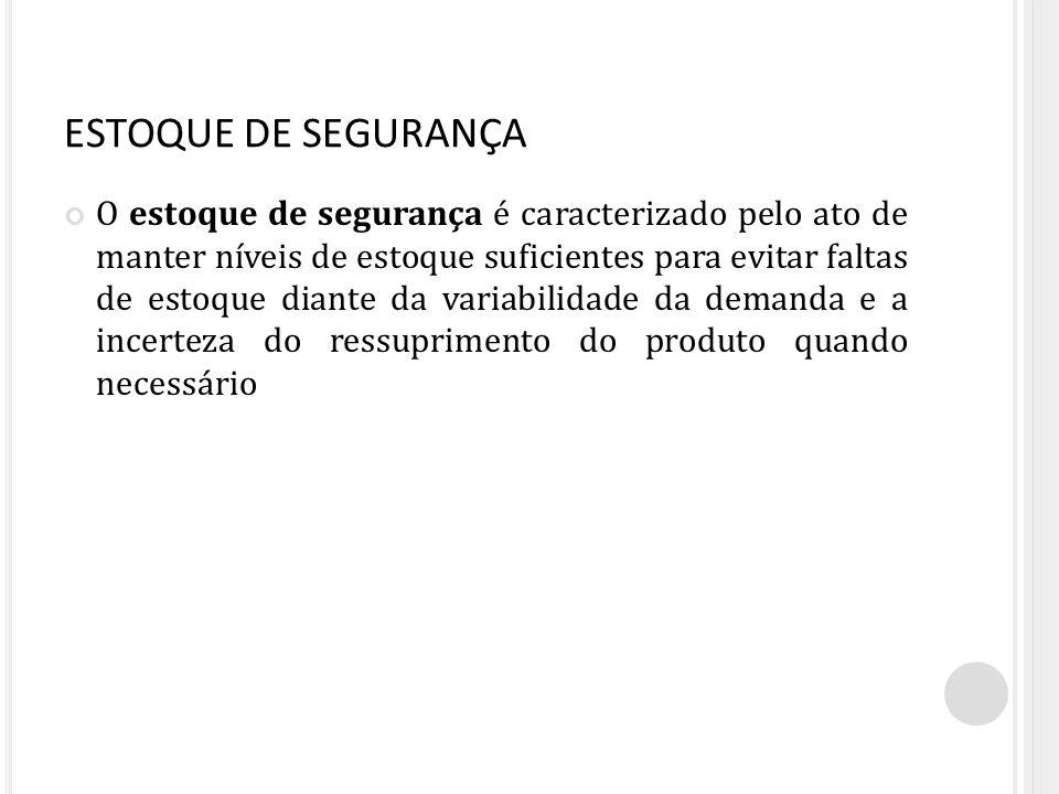 ESTOQUE DE SEGURANÇA