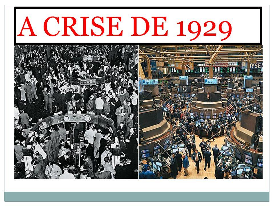 A CRISE DE 1929