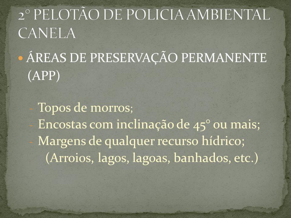 2° PELOTÃO DE POLICIA AMBIENTAL CANELA