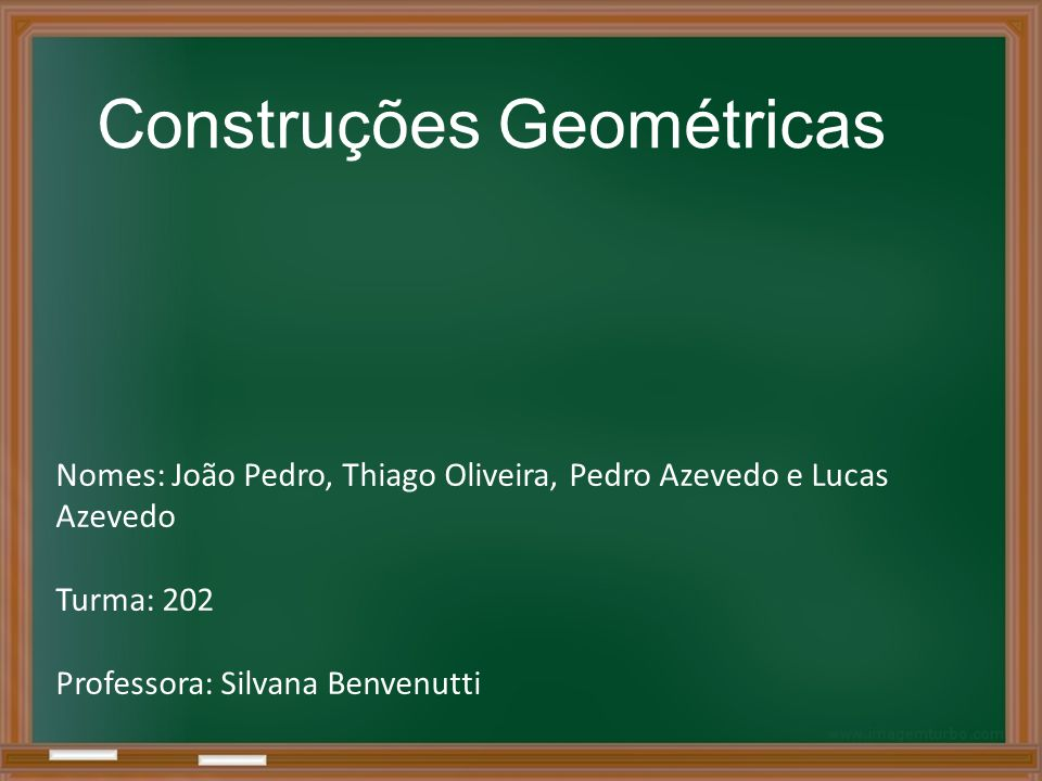 Construções Geométricas