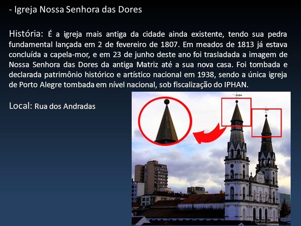 - Igreja Nossa Senhora das Dores