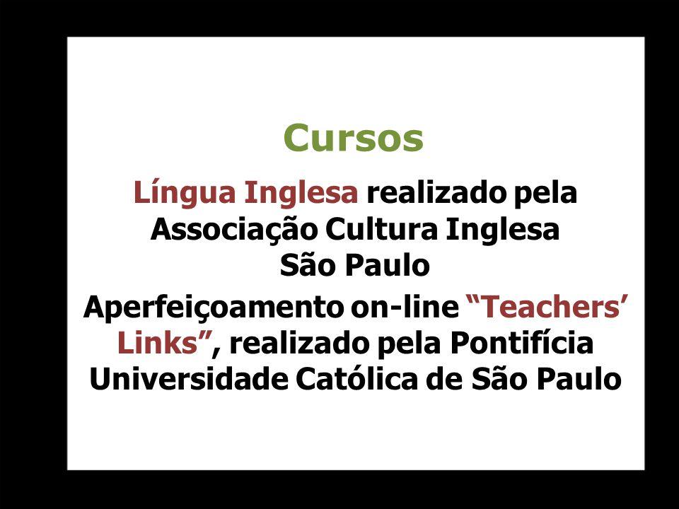 Língua Inglesa realizado pela Associação Cultura Inglesa São Paulo