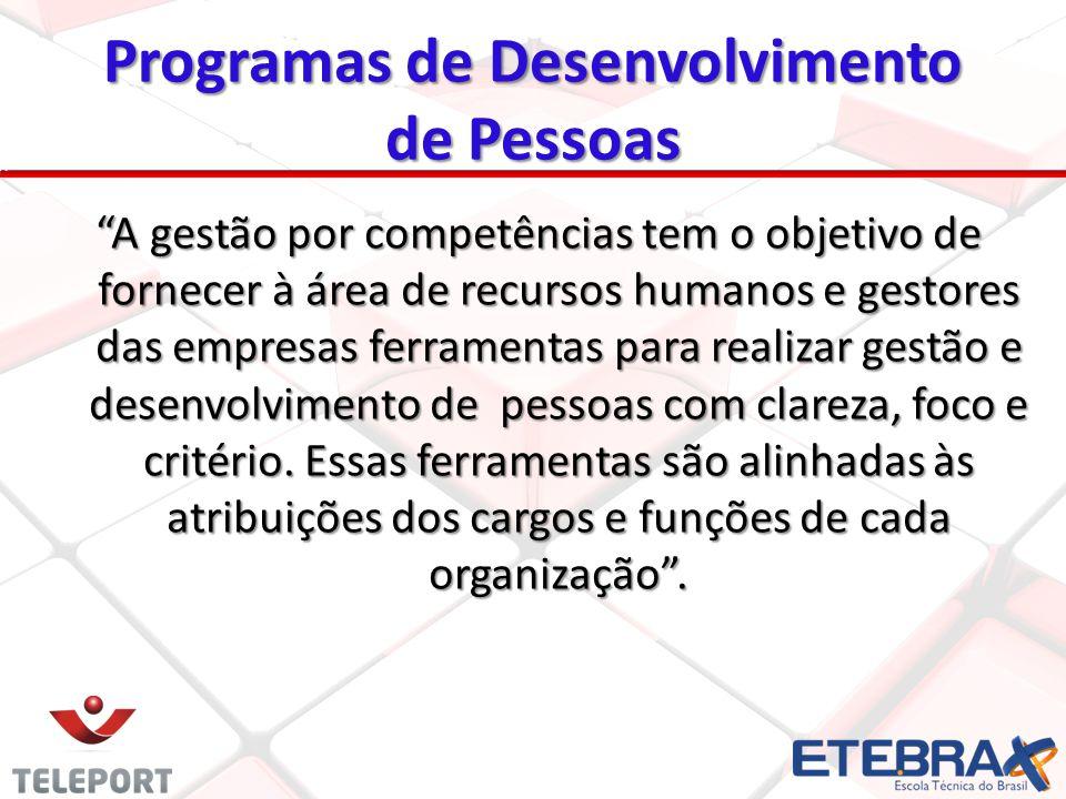 Programas de Desenvolvimento de Pessoas