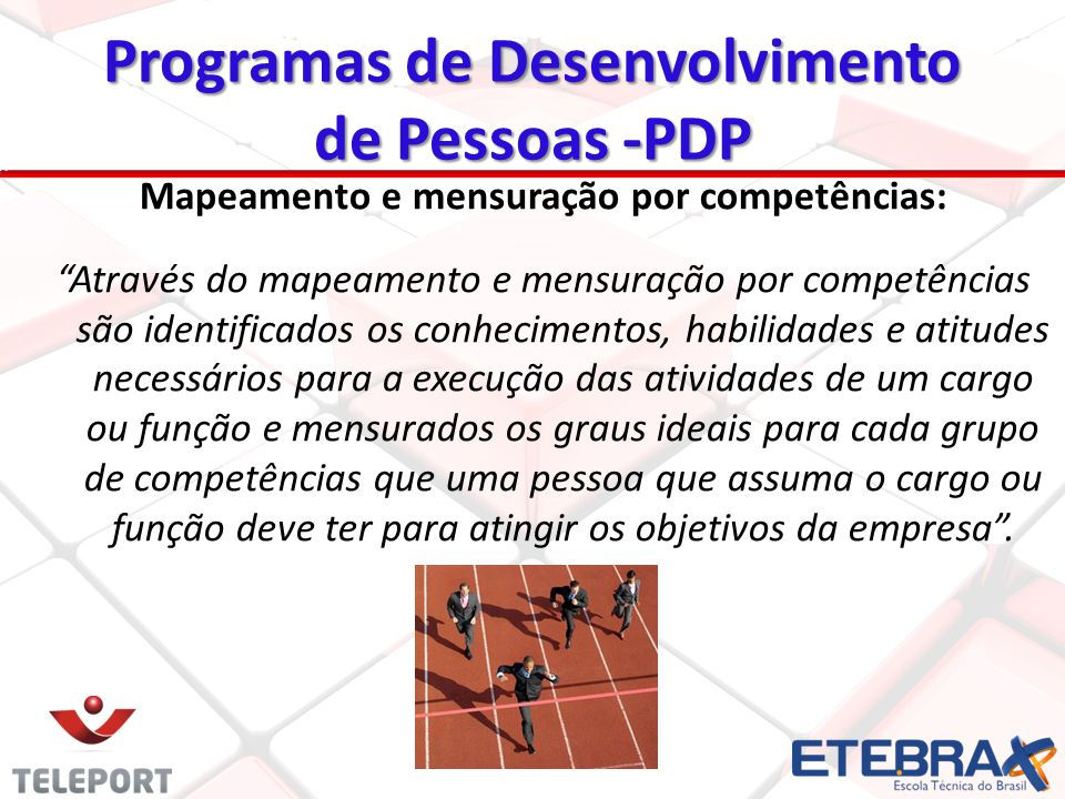 Programas de Desenvolvimento de Pessoas -PDP