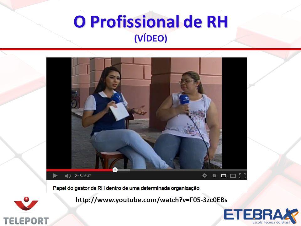 O Profissional de RH (VÍDEO)