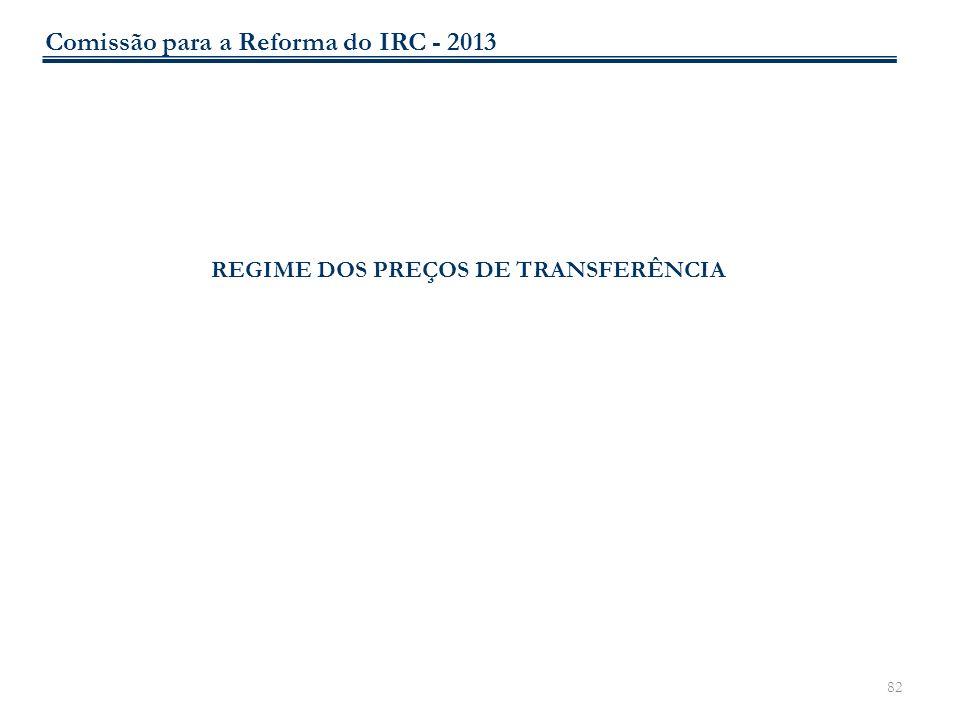 REGIME DOS PREÇOS DE TRANSFERÊNCIA