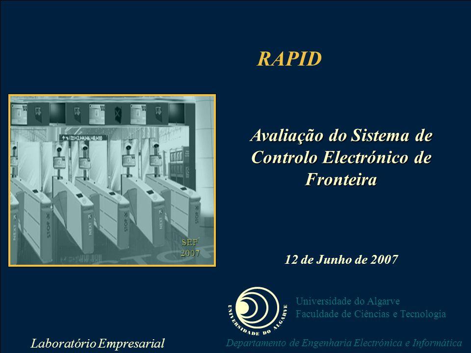 Avaliação do Sistema de Controlo Electrónico de Fronteira