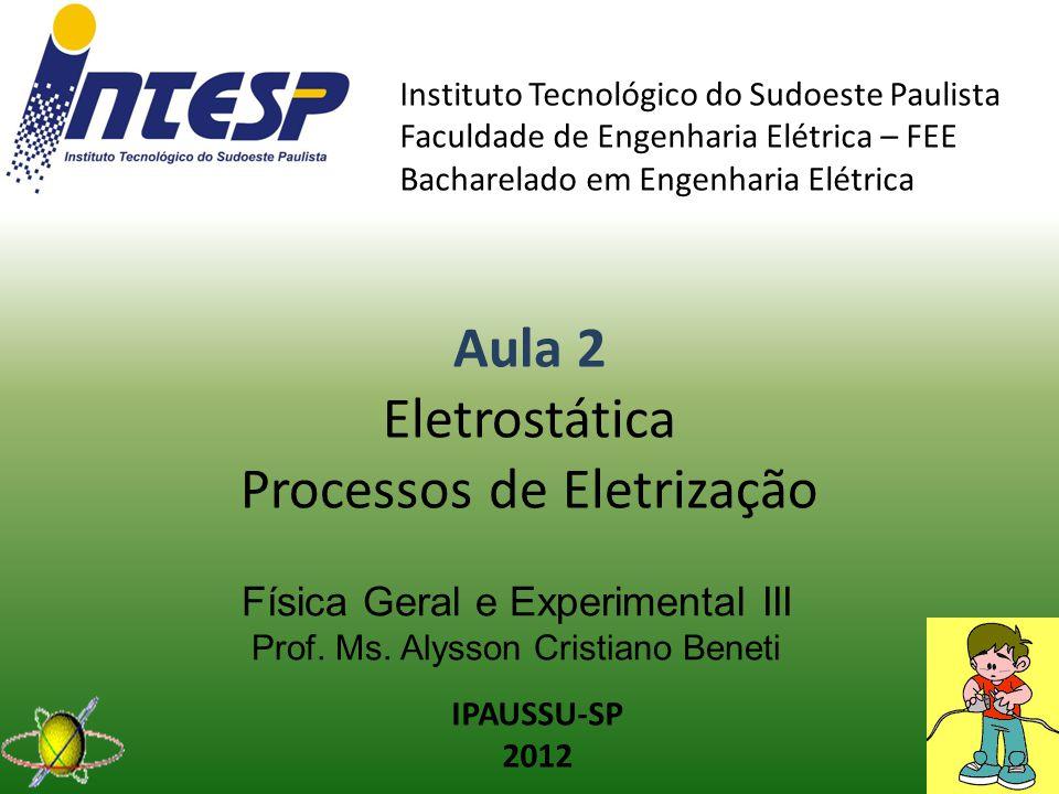Física Geral e Experimental III Prof. Ms. Alysson Cristiano Beneti