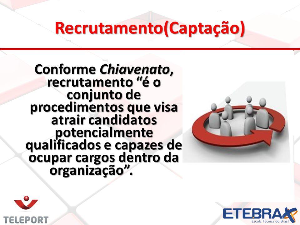 Recrutamento(Captação)
