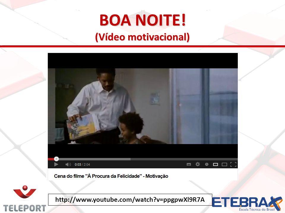 BOA NOITE! (Vídeo motivacional)