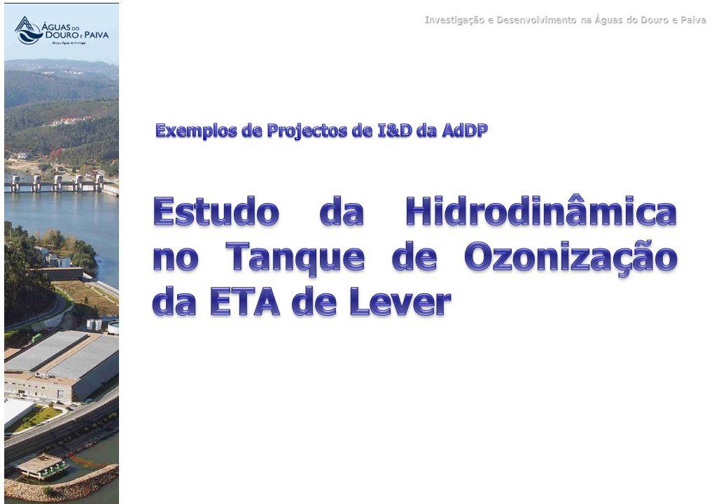 Estudo da Hidrodinâmica no Tanque de Ozonização da ETA de Lever
