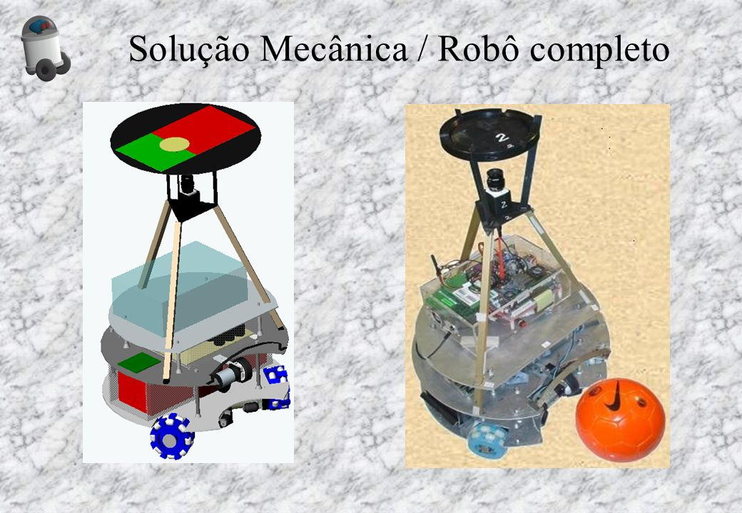 Solução Mecânica / Robô completo