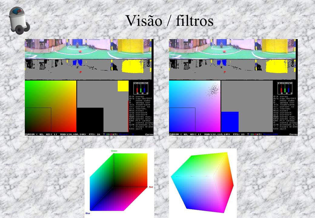 Visão / filtros