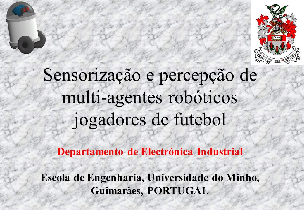 Sensorização e percepção de multi-agentes robóticos jogadores de futebol