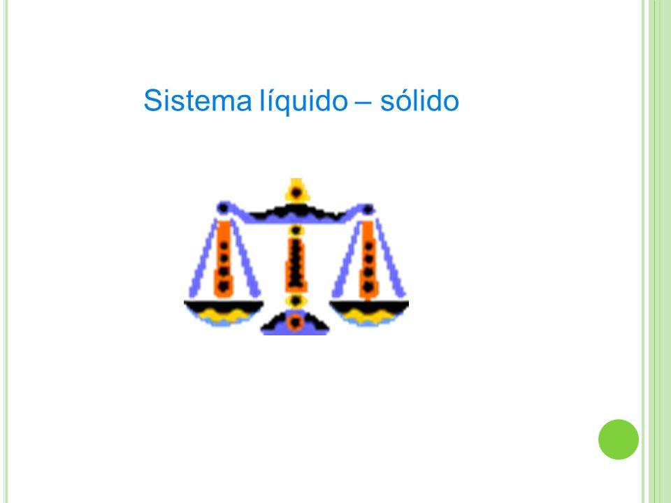 Sistema líquido – sólido