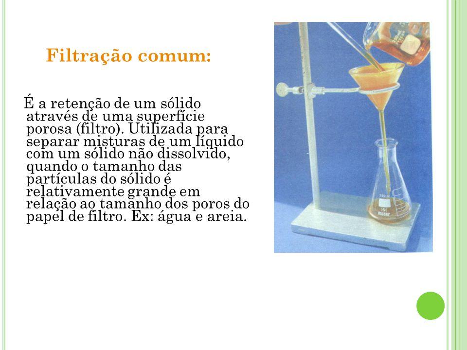 Filtração comum: