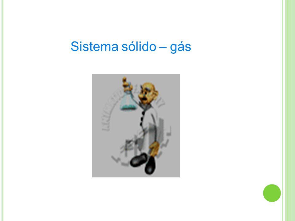 Sistema sólido – gás