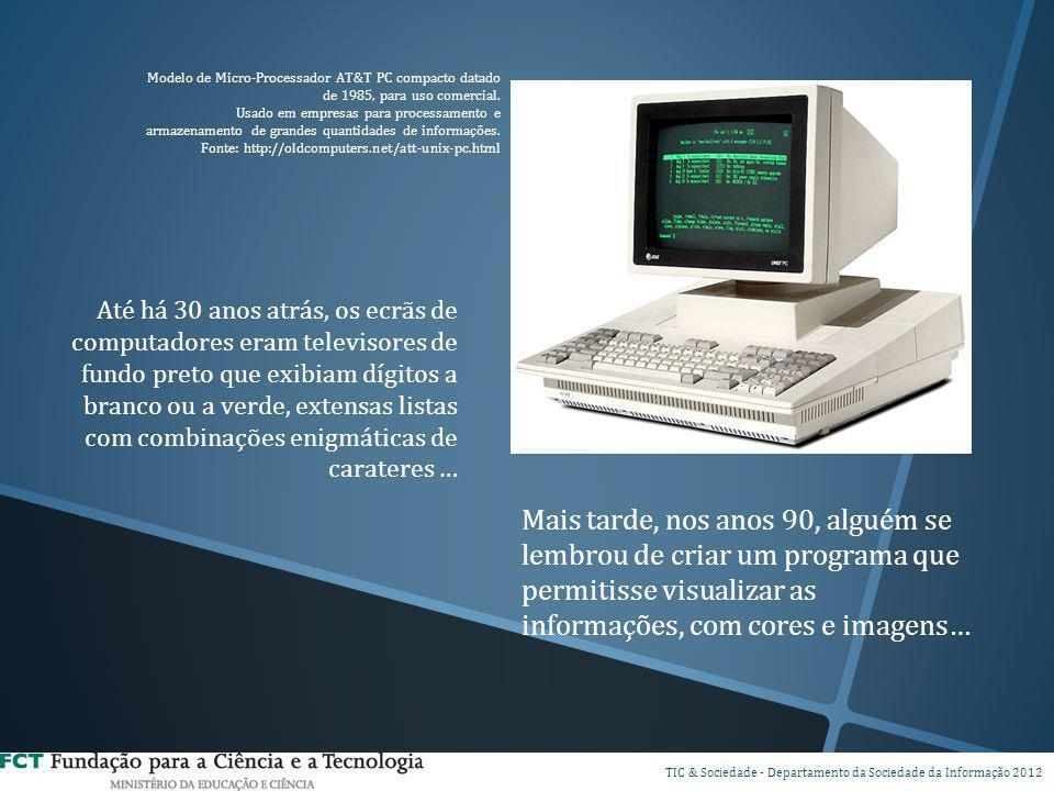 Modelo de Micro-Processador AT&T PC compacto datado de 1985, para uso comercial.