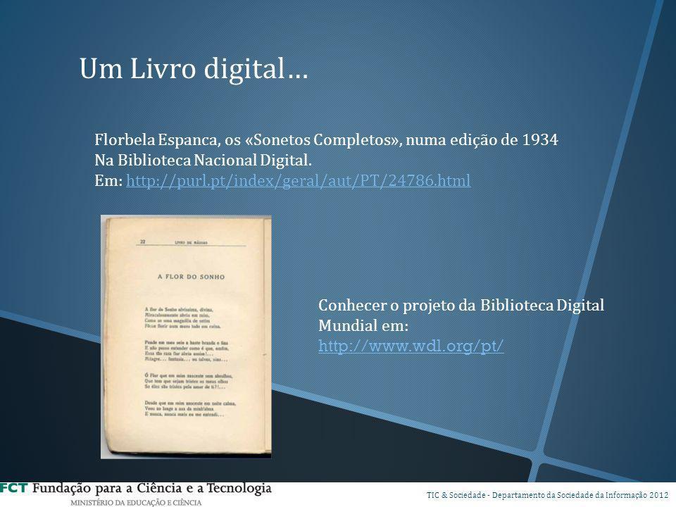 Um Livro digital… Florbela Espanca, os «Sonetos Completos», numa edição de 1934. Na Biblioteca Nacional Digital.