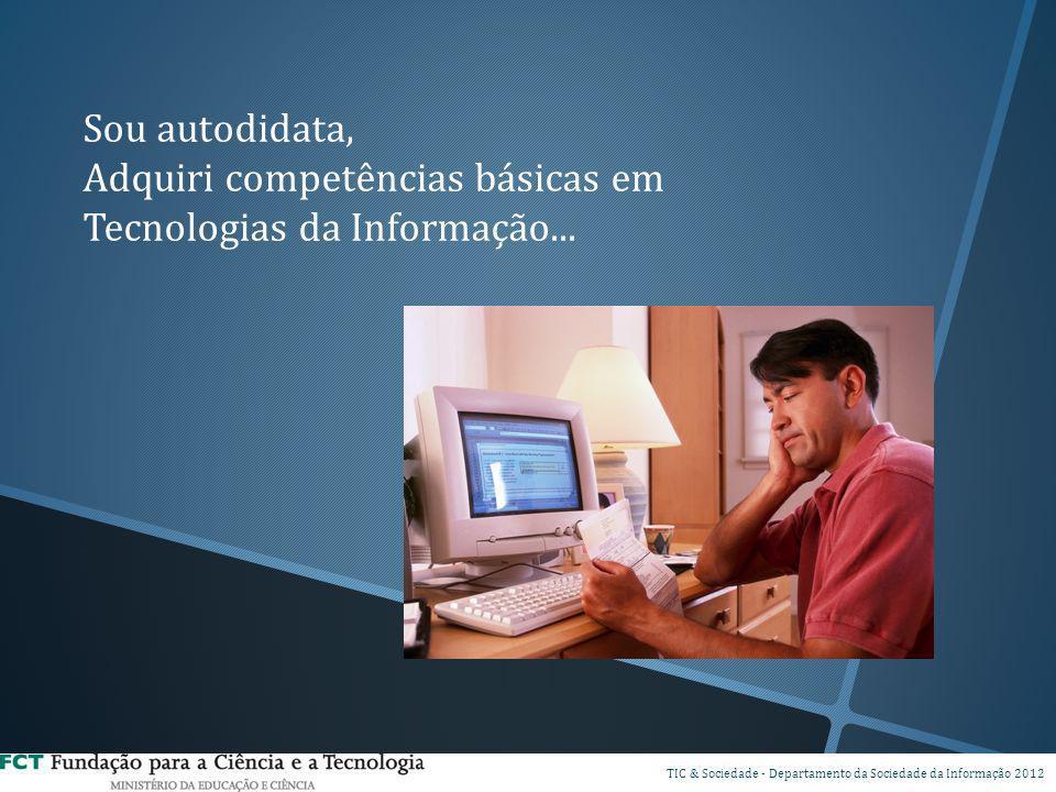 Adquiri competências básicas em Tecnologias da Informação...