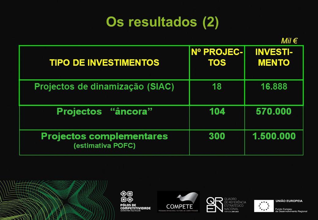 Projectos de dinamização (SIAC)