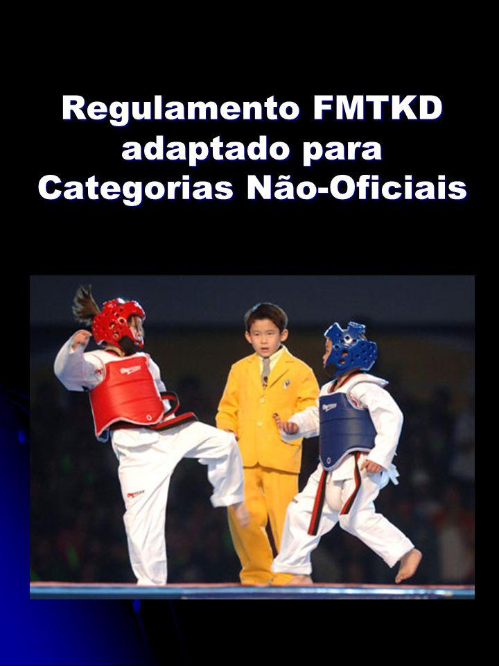 Regulamento FMTKD adaptado para Categorias Não-Oficiais