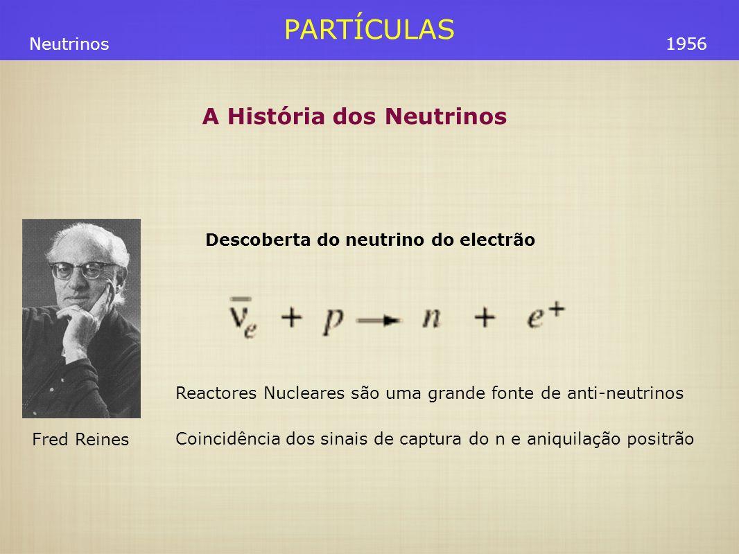 Descoberta do neutrino do electrão