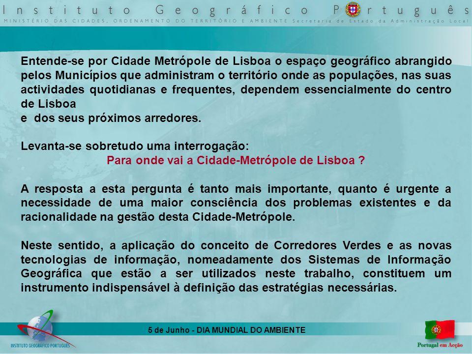 Para onde vai a Cidade-Metrópole de Lisboa