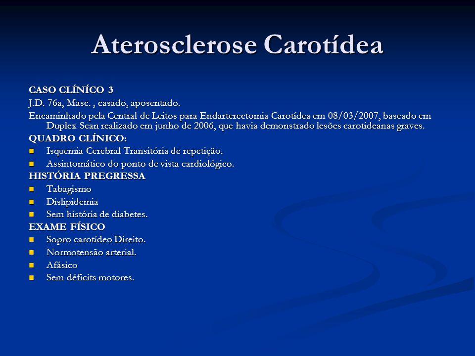 Aterosclerose Carotídea