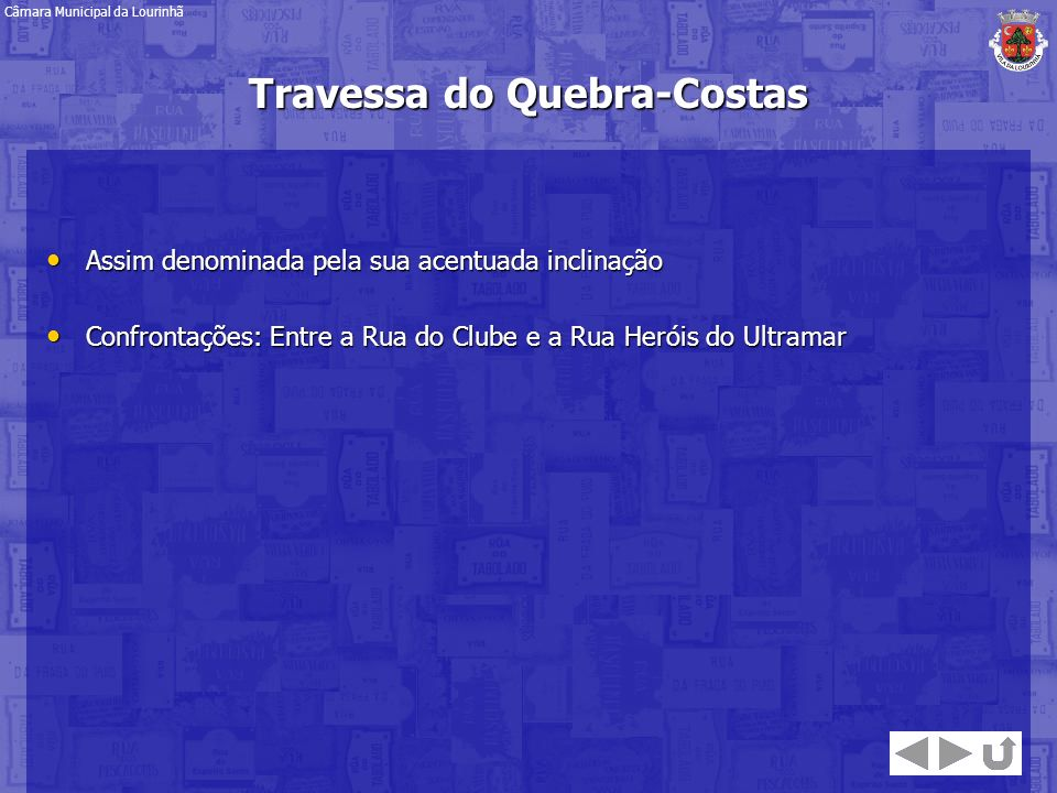 Travessa do Quebra-Costas