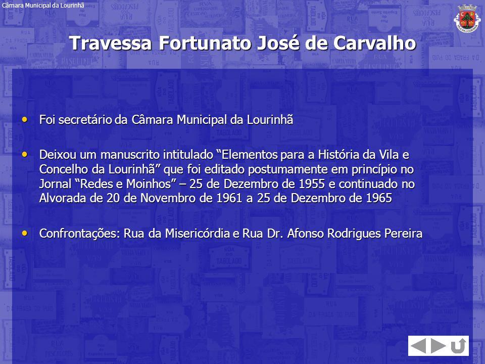 Travessa Fortunato José de Carvalho