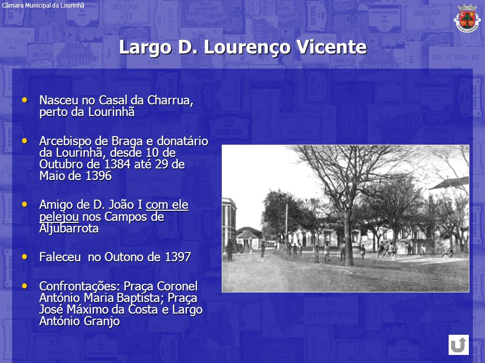 Largo D. Lourenço Vicente
