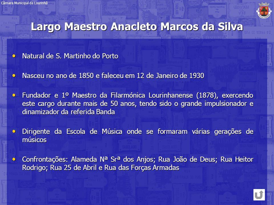 Largo Maestro Anacleto Marcos da Silva