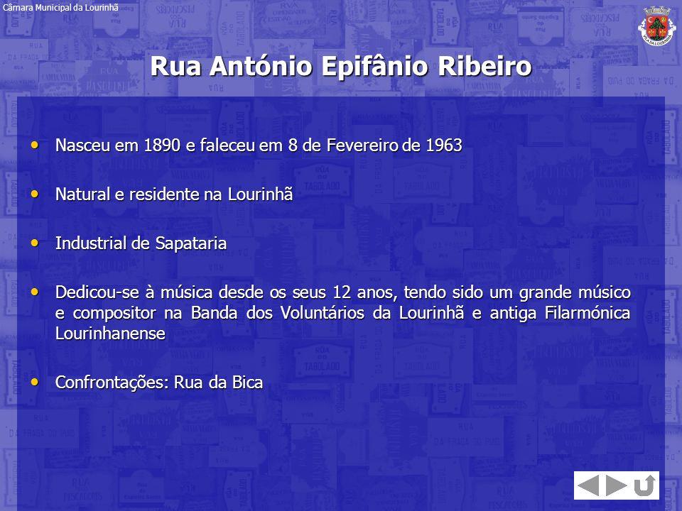 Rua António Epifânio Ribeiro