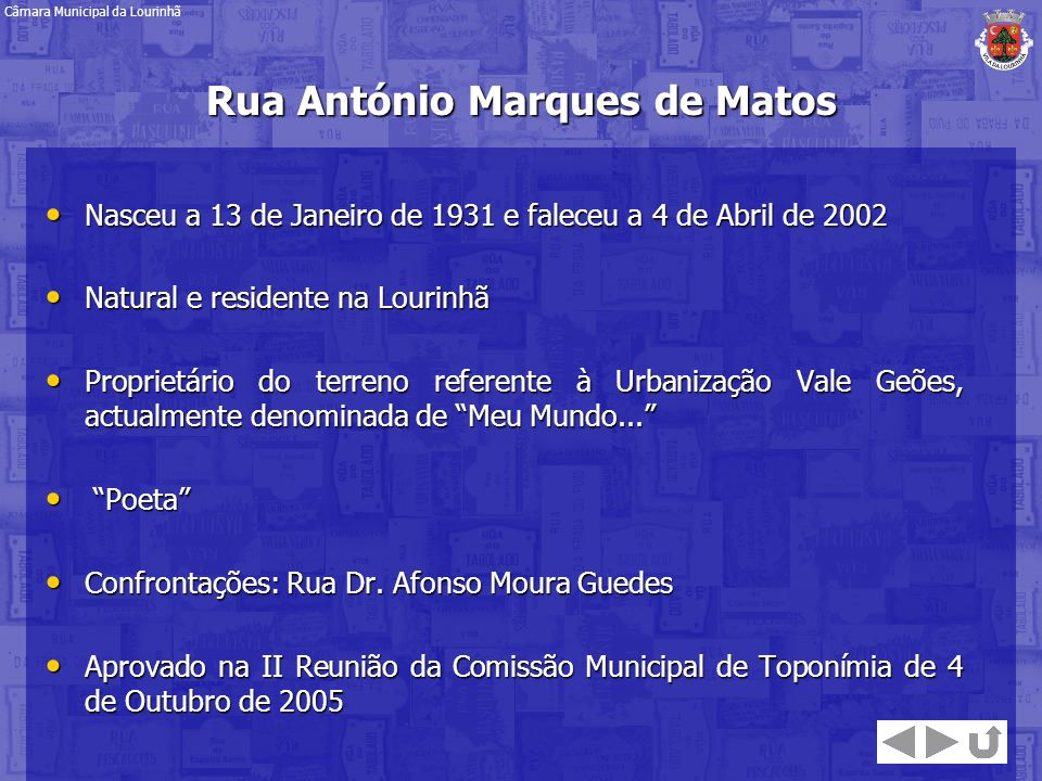 Rua António Marques de Matos