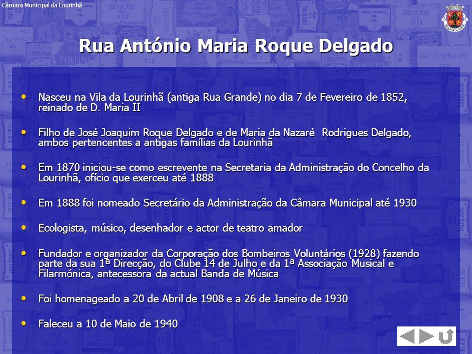 Rua António Maria Roque Delgado