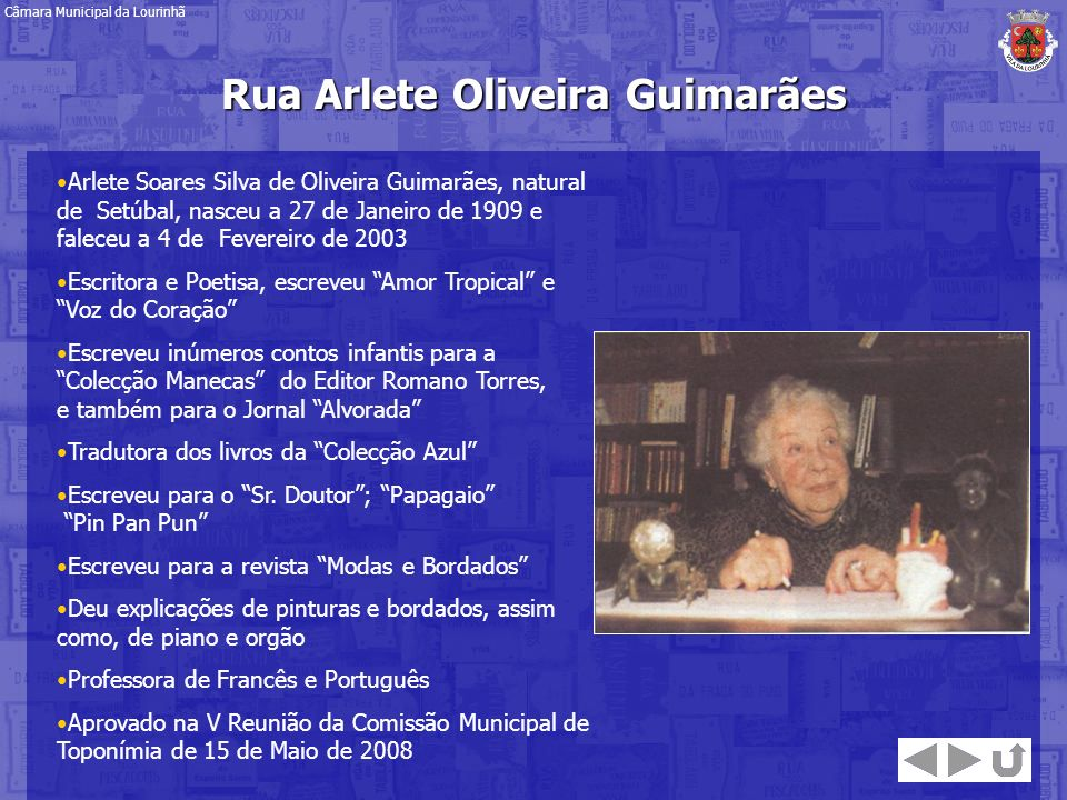 Rua Arlete Oliveira Guimarães
