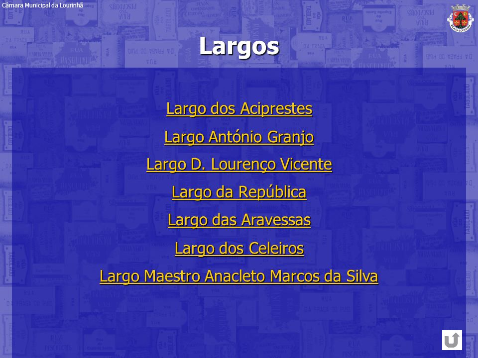 Largos Largo dos Aciprestes Largo António Granjo