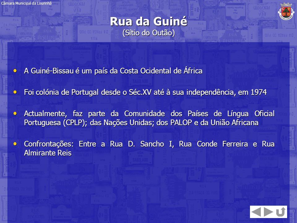 Rua da Guiné (Sítio do Outão)