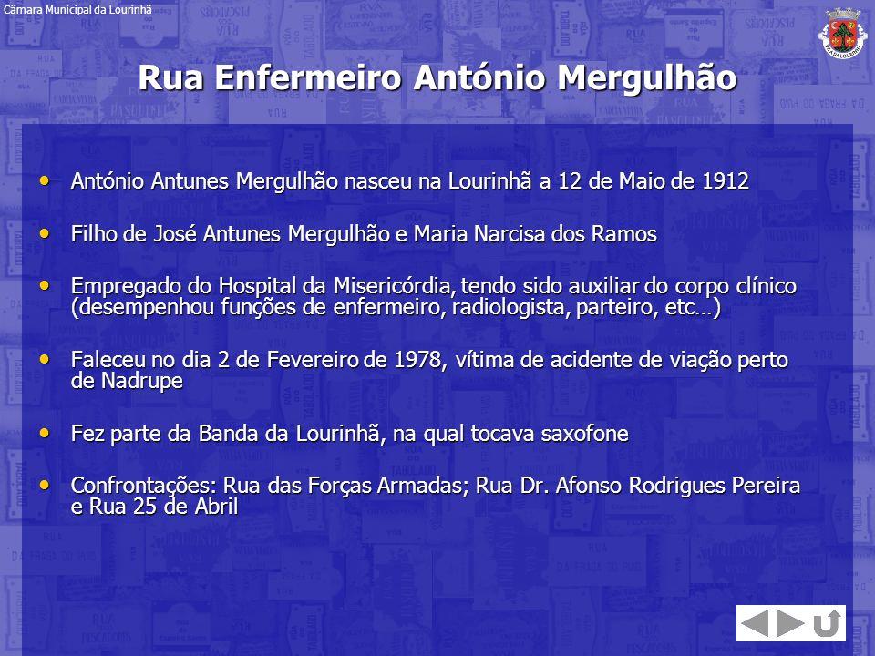 Rua Enfermeiro António Mergulhão